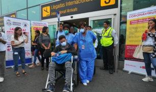 ¿Cuál es el protocolo ante posibles casos de coronavirus en el aeropuerto Jorge Chávez?