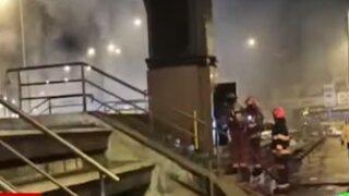 Tradicional reloj se incendia en Chorrillos