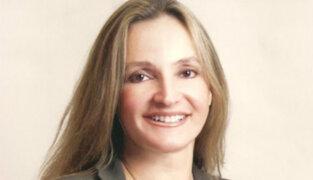 Susana de la Puente se niega a volver al Perú