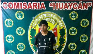 Huaycán: capturan a sujeto acusado de abusar sexualmente de un niño de 5 años