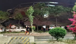 China: decenas de atrapados tras derrumbe de hotel en cuarentena por coronavirus