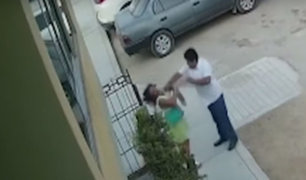 Puente Piedra: sujeto desmaya a mujer tras darle un puñete en el rostro