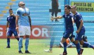 Carlos Stein logra su primer triunfo en Primera División tras vencer a Sporting Cristal