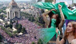 Día de la Mujer: miles protestan en las calles de América Latina