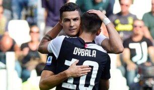 Juventus venció 2-0 a Inter de Milan por el Clásico de Italia