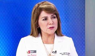 Ministra de salud: estamos corrigiendo nuestras fallas para combatir el coronavirus