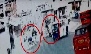 VES: delincuentes armados asaltan a balazos a una pareja