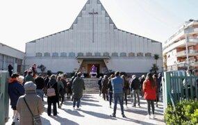 Coronavirus en Italia: iglesia suspende las misas hasta el 3 de abril para evitar contagios