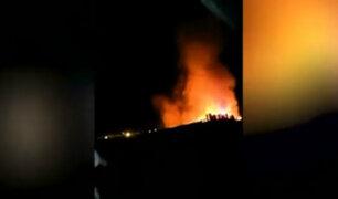 Cañete: niñas mueren tras quedar atrapadas durante incendio en su vivienda