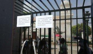 Coronavirus en Arequipa: fumigan ambientes de la Corte de Justicia y suspenden audiencias