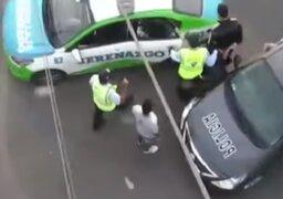 Surco: Oficial FAP grababa a mujeres con cámara escondida en su zapato.