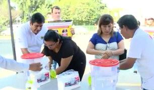 La Molina: impulsan el lavado de manos para prevenir el coronavirus