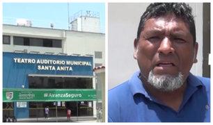 Santa Anita: serenos son acusados de agredir a excompañero de trabajo