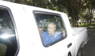 Castañeda Lossio llegó a su vivienda para cumplir arresto domiciliario