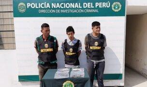 PNP frustra asalto a agencia bancaria en Puente Piedra