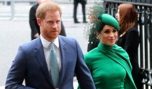 Reino Unido: duques de Sussex realizaron su último acto oficial como miembros de la realeza