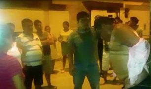 Villa El Salvador: capturan y golpean a sujeto que robó a sus vecinos