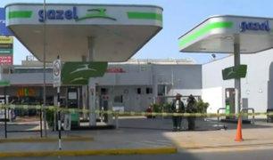 Surquillo: reportan fuga de gas en grifo