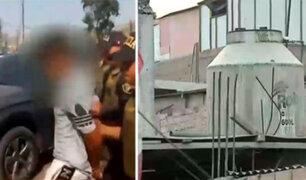 Ventanilla: adolescente fue hallada dentro de un tanque de agua