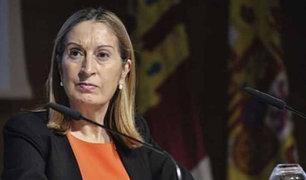 Expresidenta del Congreso de España da positivo en prueba de Coronavirus