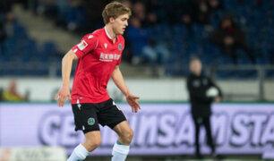 Coronavirus: Timo Hübers, del Hannover 96, es el primer futbolista contagiado