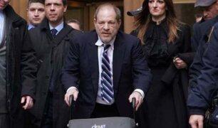 Harvey Weinstein es condenado a 23 años de cárcel por agresiones sexuales