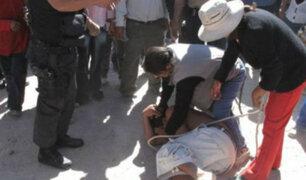 Vecinos de VES casi linchan a sujeto que robó celular a joven