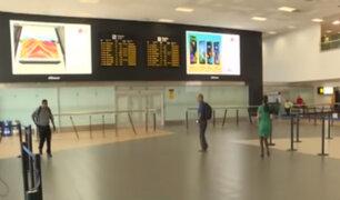 ¿Qué medidas está tomando el Aeropuerto Internacional Jorge Chávez ante la llegada de pasajeros de Europa y Asia?