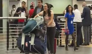 Pasajeros de Europa y Asia llegan al Perú