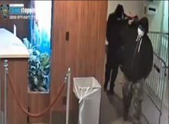 Ladrones usan mascarillas para protegerse del coronavirus en Nueva York