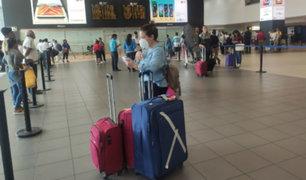 Coronavirus en Perú: control de ingreso en aeropuerto Jorge Chávez no se estaría cumpliendo