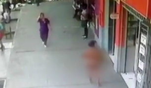 Buscan a mujer desnuda con más de 10 denuncias por robo