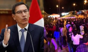 Coronavirus: Martín Vizcarra anuncia prohibición de eventos con más de 300 personas