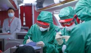 Protocolo para evitar contagio por coronavirus en los aviones