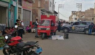 Trujillo: mujer comerciante es asesinada por sicario