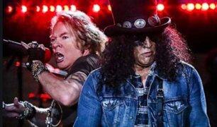 Concierto de Guns N' Roses en Lima es suspendido por Coronavirus