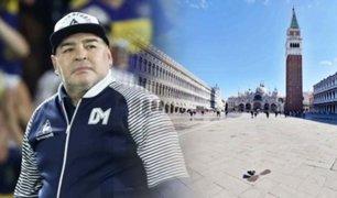 Maradona envía mensaje en apoyo a Italia por crisis de coronavirus