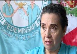 Enfermeras suspenden paro nacional por emergencia de coronavirus