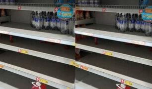 Coronavirus en Perú: ciudadanos realizan compras masivas