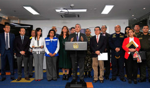 Coronavirus: presidente de Colombia dicta emergencia sanitaria
