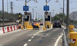 Instalan dos casetas más de peaje en autopista Ramiro Prialé para agilizar tránsito