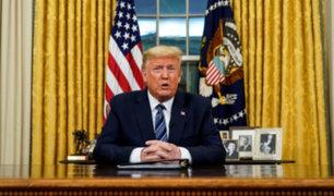Presidente Donald Trump da negativo en prueba de COVID-19