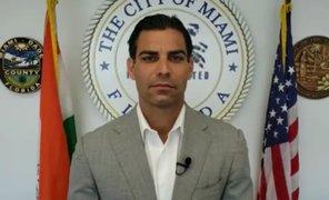 Alcalde de Miami se contagió de coronavirus tras reunirse con comitiva de Bolsonaro