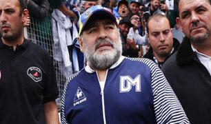 Protegen a Diego Maradona ante posible contagio de COVID-19