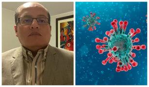 """Víctor Hugo Quijada sobre coronavirus: """"Gobierno debe cerrar las fronteras en general"""""""