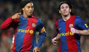 Messi gastará 4 milllones de euros para sacar a Ronaldinho de la cárcel, según prensa internacional