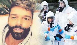 "Ricky Martin hace pedido para detener al ""monstruo"" del coronavirus"