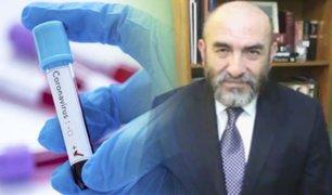"""""""Estamos en plena meseta y la semana que viene empezará a bajar"""", informó Dr. Huerta"""