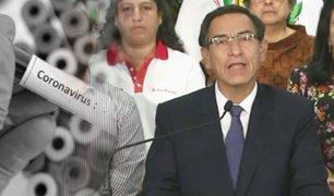 Gobierno declara estado de emergencia nacional para enfrentar al coronavirus