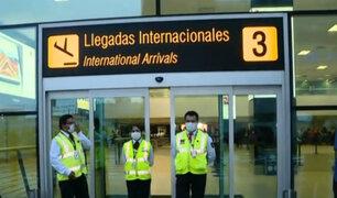 Aeropuerto Jorge Chávez implementa protocolos y se alista para reactivación
